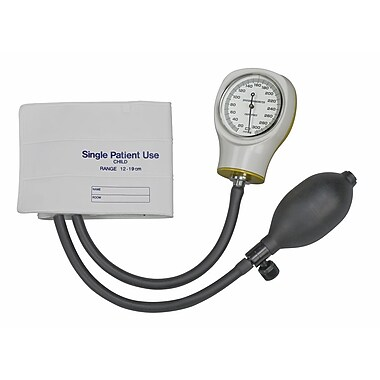 Briggs Healthcare MABIS Single-Patient Use Sphygmomanometer White