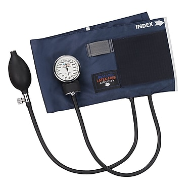 Briggs Healthcare Latex Free Aneroid Sphygmomanometer Blue