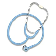 Briggs Healthcare Mabis Caliber Dual Head Stethoscope Light Blue
