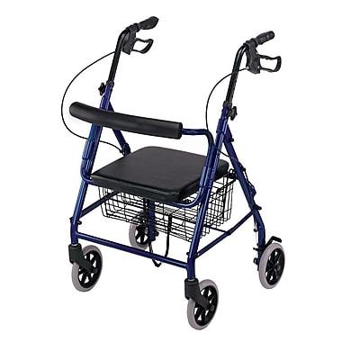 Briggs Healthcare Hemi Aluminum Rollator Blue