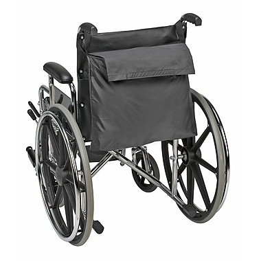 Briggs Healthcare Duro-Med 517-1072-0200 Wheel Chair Back Pack, Black