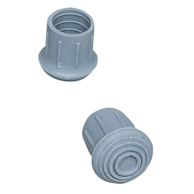 Briggs Healthcare Walker-Cane-Commode Replacement Tips Gray