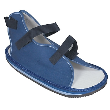 Briggs Healthcare  Rocker Bottom Cast Shoe, Large Blue