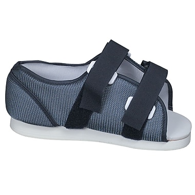 Briggs Healthcare Post-Op Shoe Woman's Blue Mesh Medium Blue