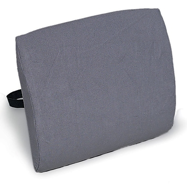 Briggs Healthcare Contoured Back Cushion with Straps Grey