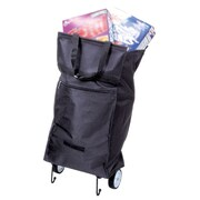 Briggs Healthcare Shopping Bag With Wheels Black