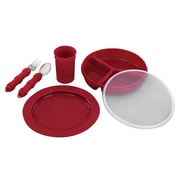 Briggs Healthcare Dinnerware Set Red