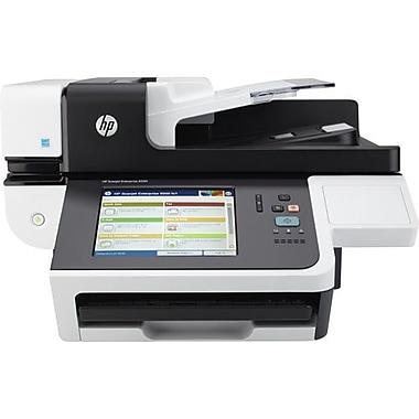 HP® 8500 Sheetfed/Flatbed Scanner, 600 dpi