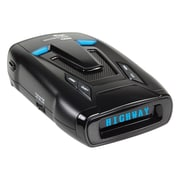 Whistler® 360 Deg Laser Radar Detector With Blue OLED Text Display