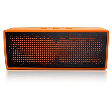 Antec® SP1 Portable Wireless Bluetooth Speaker and Speakerphone, Orange