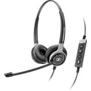 Sennheiser Century SC 660 USB CTRL Stereo Headset With Microphone, Black/Silver
