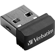 Verbatim® Store 'n' Stay 64 GB Nano USB Flash Drive