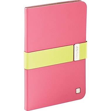 Verbatim® Signature Carrying Case For iPad Mini With Retina Display, Pink/Green