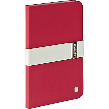 Verbatim® Signature Carrying Case For iPad Mini With Retina Display, Red/Gray