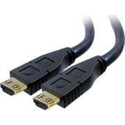 Comprehensive® Pro AV/IT Series 75' HDMI Male/Male Audio/Video Cable With ProGrip/SureLength, Black