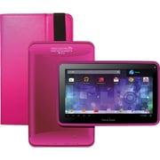 Visual Land® Prestige Pro 7D 7 8GB Android 4.1 Tablet With Folio Bundle, Magenta