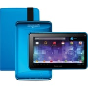 Visual Land® Prestige Pro 7D 7 8GB Android 4.1 Tablet With Folio Bundle, Blue