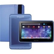 Visual Land® Prestige Pro 7D 7 8GB Android 4.1 Tablet With Folio Bundle, Sky Blue