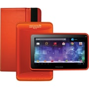 Visual Land® Prestige Pro 7D 7 8GB Android 4.1 Tablet With Folio Bundle, Orange