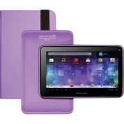 Visual Land® Prestige Pro 7D 7 8GB Android 4.1 Tablet With Folio Bundle, Lilac