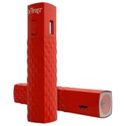 ZAGG® ifrogz® GoLite 2600 mAh Portable Power Battery With Flashlight, Red