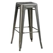 COASTER Bar Stool Silver