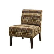 COASTER Wood Contemporary Accent Chairs Square Spiral Pattern