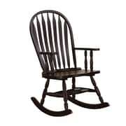 COASTER Rockers Wood Rocking Chair, Cappuccino