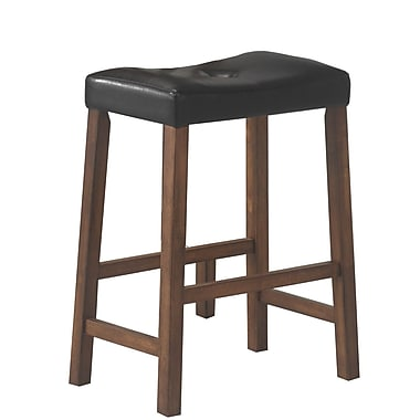 COASTER 3 Piece Bar Table Stool Set