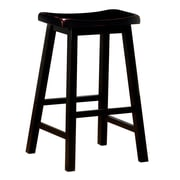 COASTER Saddle Bar Stool Black