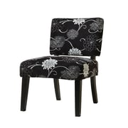 COASTER Wood Contemporary Accent Chair Black