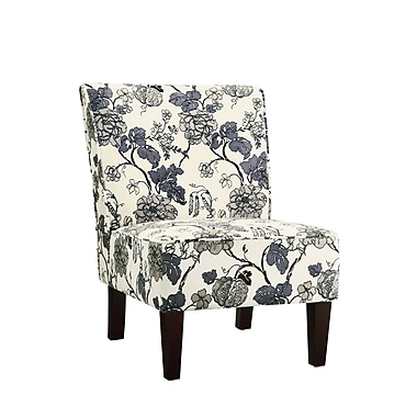 COASTER Fabric Accent Chair, Gray (902140)