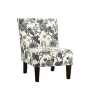 COASTER Gray Fabric  Seating Chair  Floral