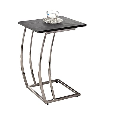 COASTER Snack table Wood / Metal 16in. x 12in. x 23in.