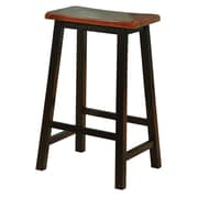 COASTER Bar Stool Black/Oak