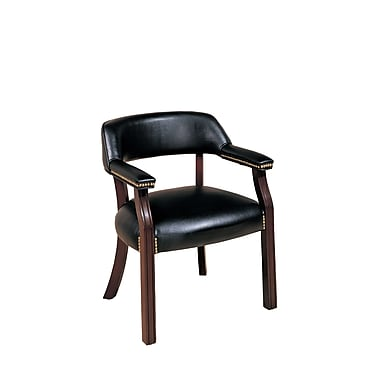 COASTER Wood Office Side Chair, Black (511K)