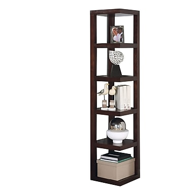 COASTER Contemporary Bookcase Cappuccino