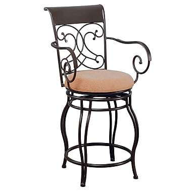 COASTER Metal Bar Stool 24in.