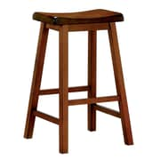 COASTER Saddle Bar Stool Oak