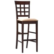 COASTER Bar Stool Wheat Back