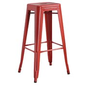 COASTER Bar Stool Red