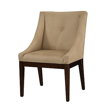 COASTER Accent Wood & Fabric Seating Chair Taupe