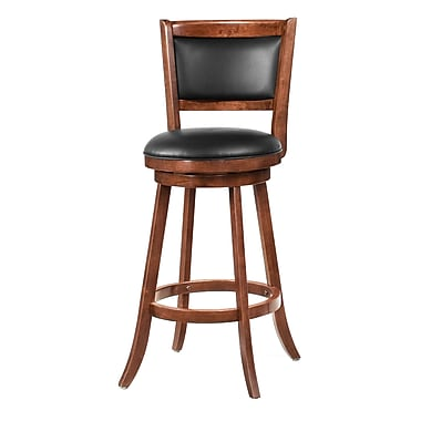 COASTER Swivel Bar Stool w/ Upholstered Seat 29in.