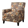 COASTER Seating Wood & Fabric Accent Chairs Island flower