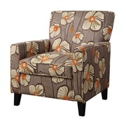 COASTER Fabric Accent Chair, Brown (902031)