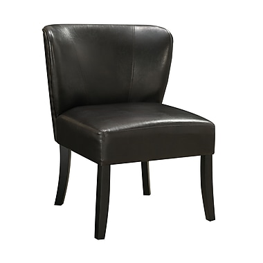 COASTER Leather like vinyl Accent  Seating Chair