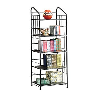 COASTER Bookcase Metal Home office/Storage Black