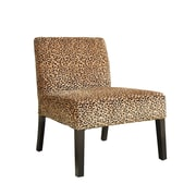 COASTER Wood Contemporary Accent Chairs Leopard Pattern