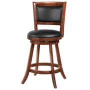 COASTER Swivel Bar Stool w/ Upholstered Seat 24