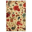 COASTER Tropical Acres Printed Nylon 5in. x 8in. Multi Colour Rug